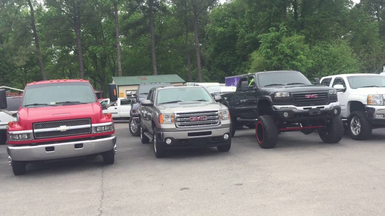 Davis auto sales lifted and modified inventory walk by. All for ...