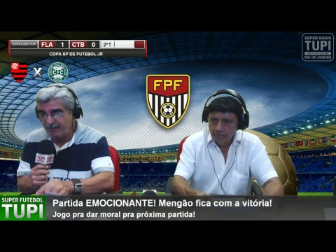Flamengo 1 x 0 Coritiba - 3ª Fase - Copa SP de Futebol Jr - 14/01/2018