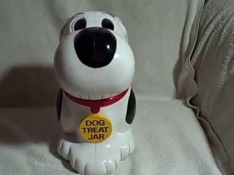 Fundamental Barking Dog Treat Cookie Jar used Collectible