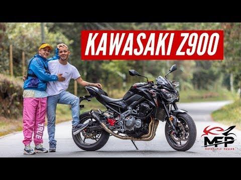 Kawasaki Z900 como a rata