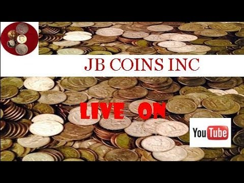 LIVESTREAM! SEARCHING HALF DOLLARS FOR RARE & VALUABLE COINS. SILVER, GOLD & ERROR COIN GIVEAWAY