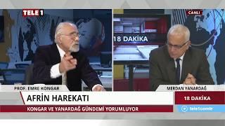 18 Dakika - Merdan Yanardağ & Emre Kongar (19 Mart 2018) | Tele1 TV