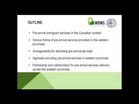 Learn About Western Canada's Pre-Arrival Immigrant Services