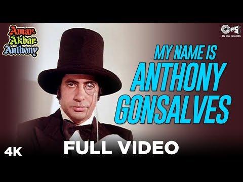 My Name Is Anthony Gonsalves Full Video - Amar Akbar Anthony | Amitabh Bachchan | Kishore Kumar