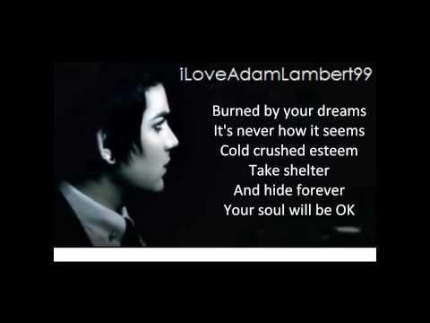 Adam Lambert  Soaked With Lyrics