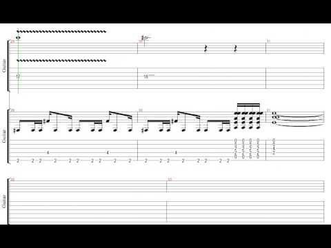 移民の歌 レッド・ツェッペリン ギター リフ Tab譜  Led Zeppelin Guitar Riffs Immigrant Song