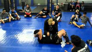 Erik Paulson Teaching Stomach Conditioning At CSW Training Center