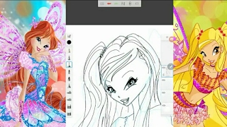 How to draw Stella Believix COUTURE from Winx Club! HD Guide