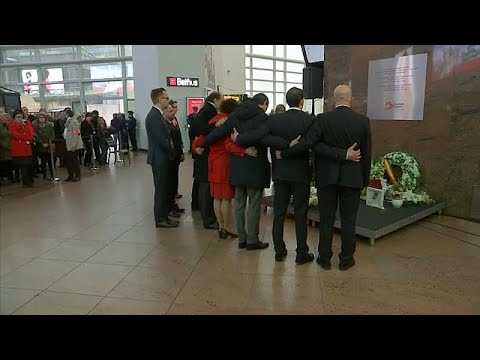 No Comment TV: Brussels airport observes a minute's silence to mark second anniversary of attacks