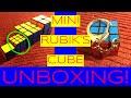 Rubik's keychain cube unboxing