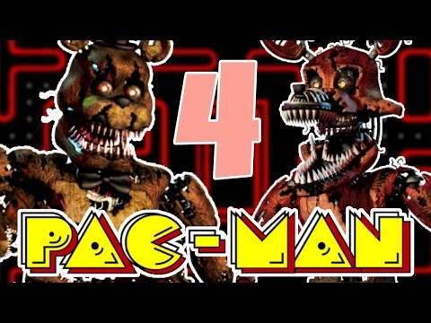 I SUCK AT THIS GAME.. | Five Nights At Freddy's PACMAN 4