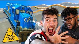 LA MEJOR MEGA RAMPA CON FINAL EPICO !! (CON MI AMIGO) GTA V ONLINE
