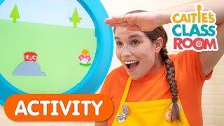 Let's Play Hide & Seek  | Caitie's Classroom | Activities For Kids