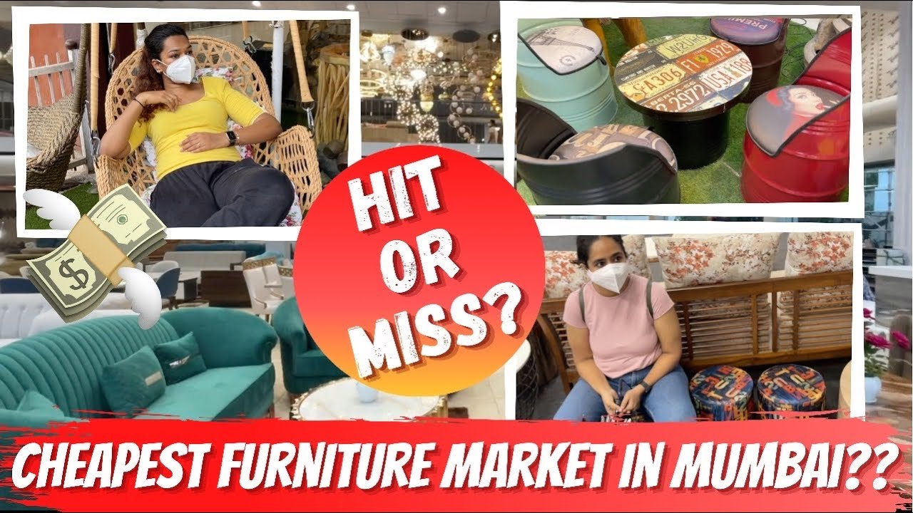 I Went to the Cheapest Wholesale Furniture Market in Mumbai | What did we buy?? #HustleWSar