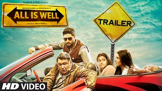 All Is Well Official Trailer | Abhishek Bachchan, Asin, Rishi Kapoor, Supriya | T-Series