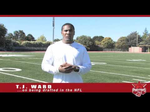 T.J. Ward - Being Drafted in the NFL