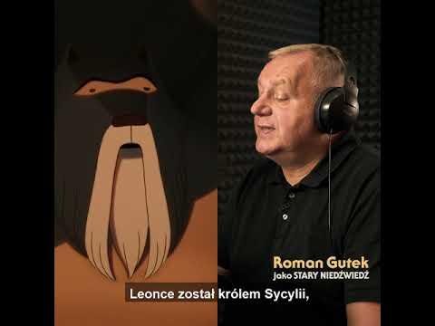 Roman Gutek jako Stary Niedźwiedź I FRAGMENT FILMU I Słynny najazd niedźwiedzi na Sycylię