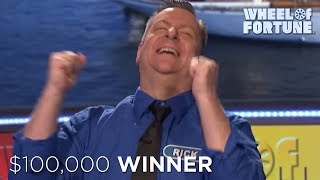 Watch rick solve the bonus round like a champ! subscribe to wheel of fortune for exclusive content: http://bit.ly/wofsubscribeyt get our newsletter: https:/...