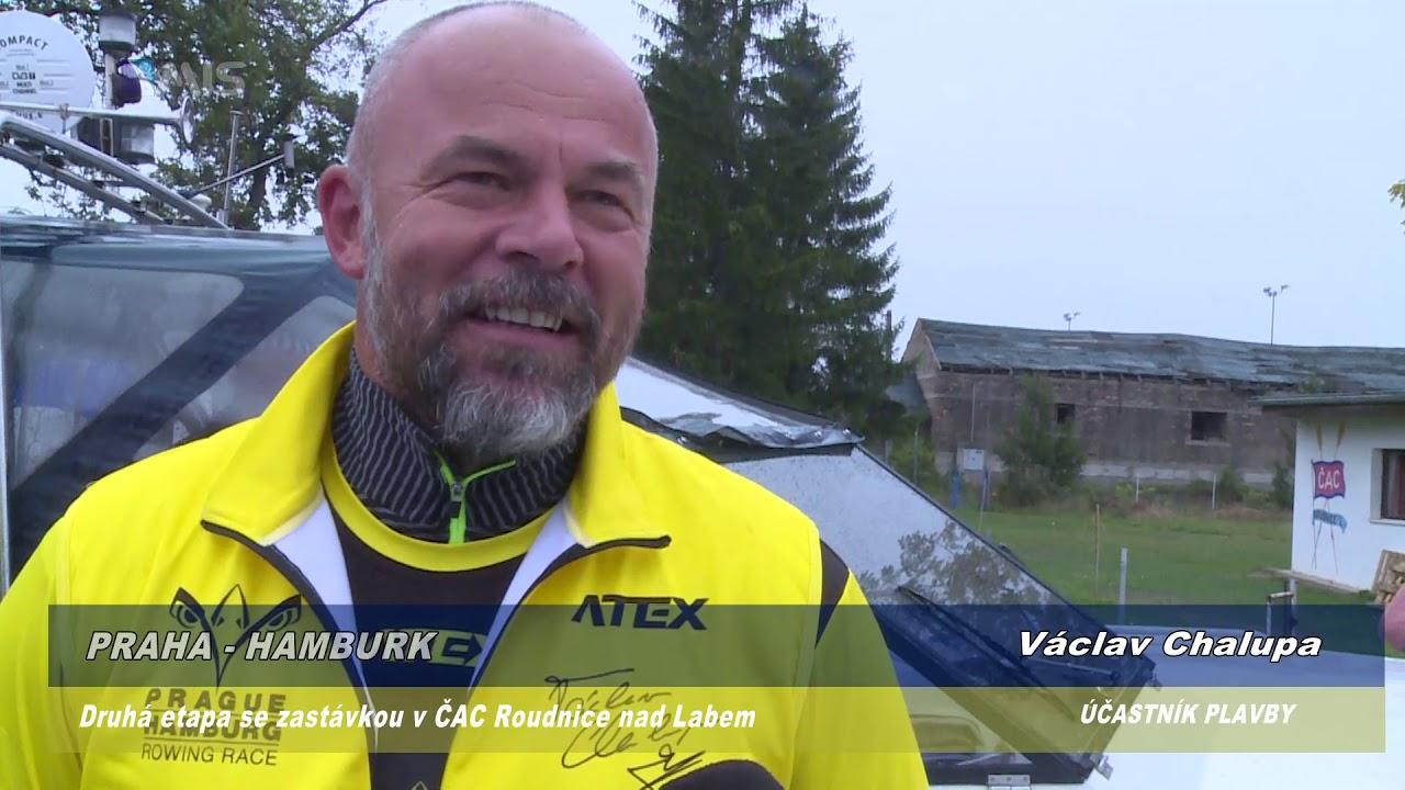 Video Nejdelší vzdálenost ujetá na skifu – Prague Hamburg Rowing Race