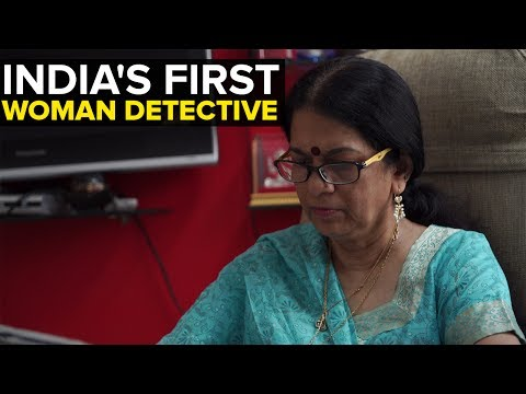 Rajani Pandit- India's First Female Private Detective