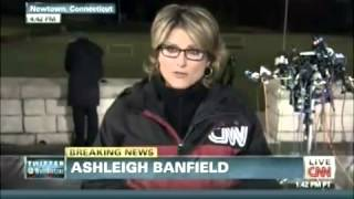 I Have 2 Small Children In A CT. School 30 Minutes Away From Here! CNN's Ashleigh Banfield Crying