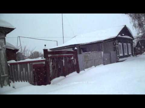 Аткарск. Аткарская улица. Зима 2011г.