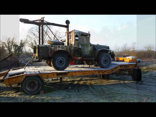 restauration dodge wc52