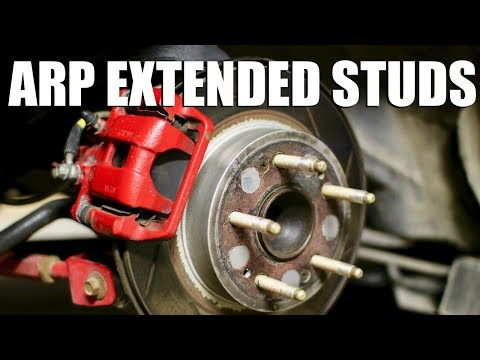 How to Install ARP Extended Wheel Studs