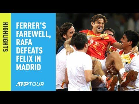 Highlights: Zverev Sends Ferrer Into Retirement, Nadal Advances Madrid 2019