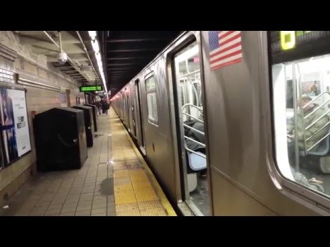 NYC Subway Train Station Tour: 51st Street / Lexington Avenue-53rd Street