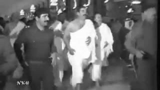 صدام حسين في البيت الحرام نادر
