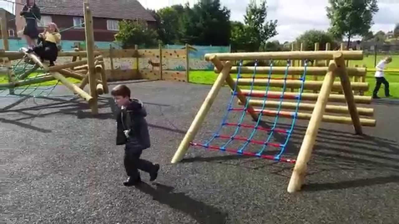 Woodland Community Primary School - Adventure Climbing Zone