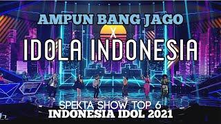 BANG JAGO x IDOLA INDONESIA - Tian Storm x Ever Slkr xTOP 6 -SPEKTA SHOW TOP 6 - Indonesia Idol 2021