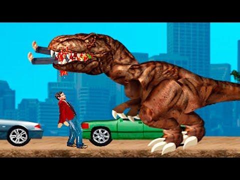 Динозавры в нью йорке мультфильм