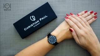 The Strand Luxe 35mm - Christian Paul Watches Reviews | 101.Watch Store