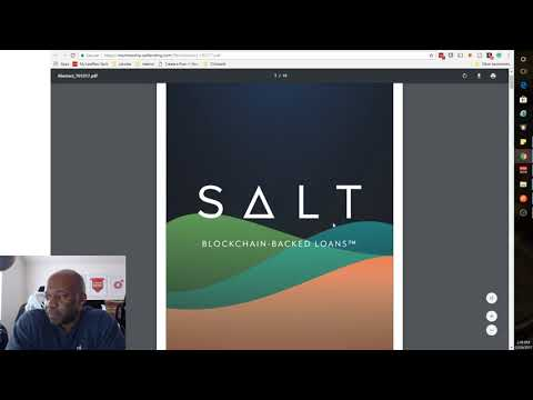 CryptoN00b: Salt - Secure Automated Lending Technology