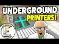 Underground Printer Base! - Gmod DarkRP Life ( Underground Base Where No One Will Find It?)
