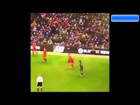 Jon Flanagan  tackle over Raheem Judas Sterling  3.03.16