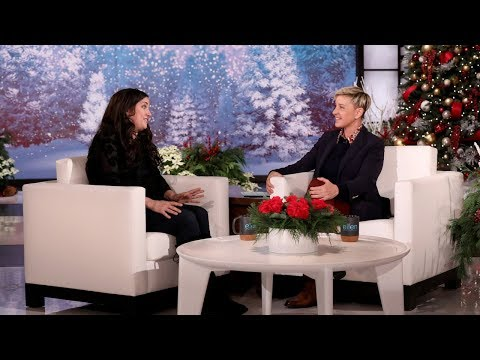Ellen Rewards a Mom Who Paid It Forward During the Holiday Season