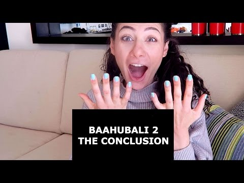 Thumbnail: BAAHUBALI 2 - THE CONCLUSION (TELUGU) TRAILER REACTION | TRAVEL VLOG IV