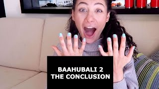 BAAHUBALI 2 - THE CONCLUSION (TELUGU) TRAILER REACTION | TRAVEL VLOG IV