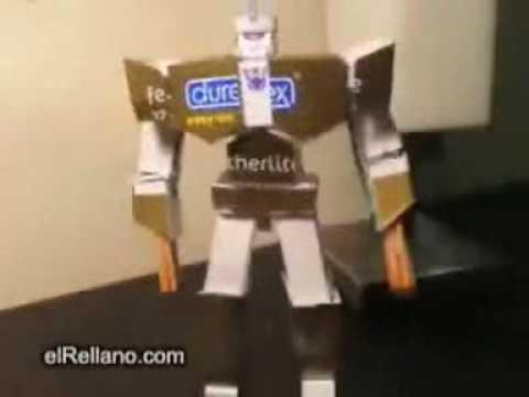Transformers Reciclável Youtube