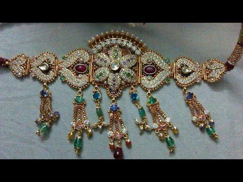 New Bhujbandh Design   Rajputi Armlet Design   panchi   Rajasthani Bhujbandh Design   Indian jewelry. http://bit.ly/2LFgXzZ