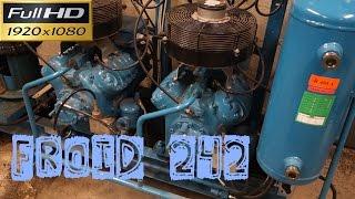 Froid242-Centrale froid négatif-le compresseur 1 est en défaut-dépannage