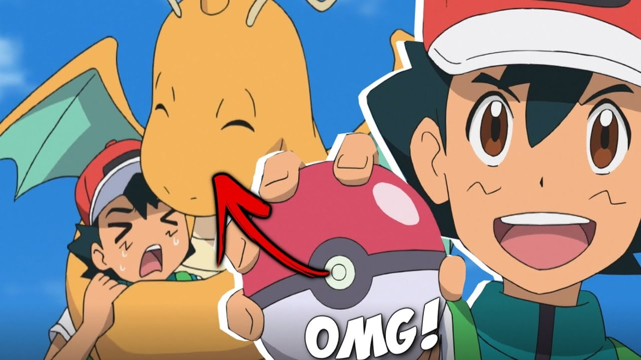 ☆ASH KETCHUM CATCHES A DRAGONITE! OMG! // Pokemon (2019) Sword & Shield Anime News☆