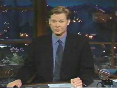 Late Late Show with Craig Kilborn monologue