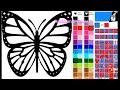 Butterfly Coloring Pages - Coloring Pages For Kids