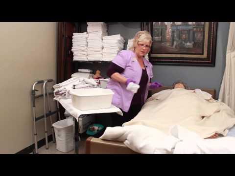 Caregiver Skills: Washing Face and Hair
