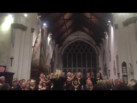 Poole Rock Choir - Christmas Rocks Wareham 2016 - Halo (Beyoncé)