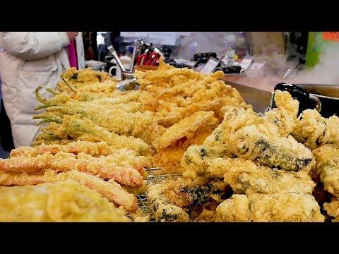 The most popular street foods in Korea - Tempura, Tteokbokki, Sundae, Kimbap, Fish cake